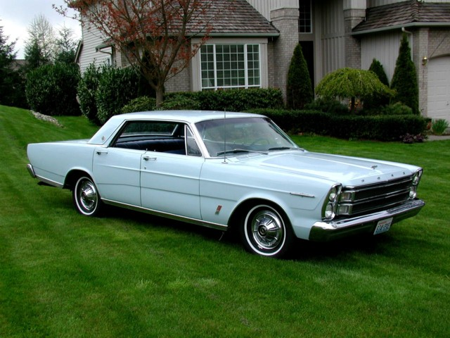 1966 Ford LTD 4 Door No Post Hardtop