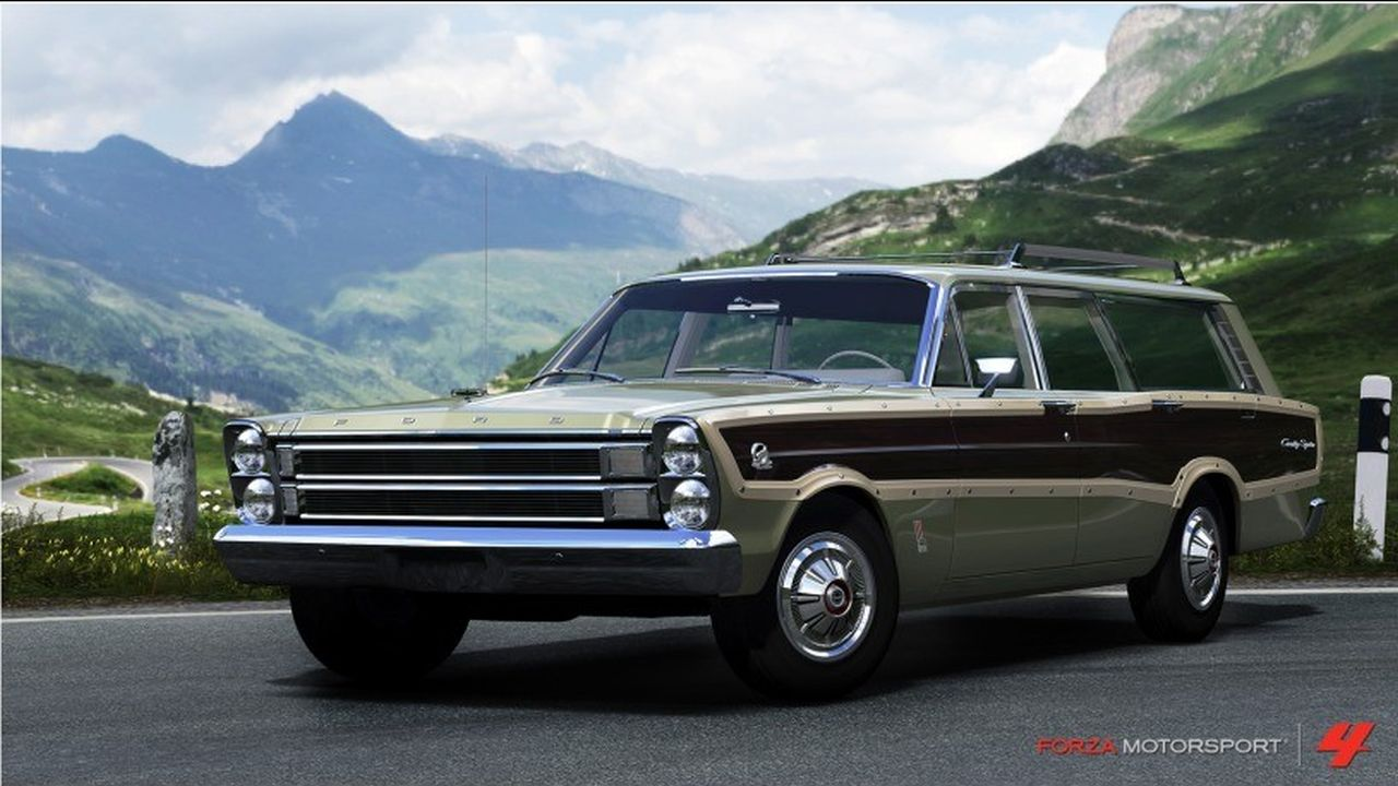 1966 ford country squire - photo #37